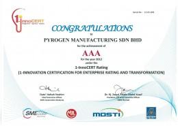 AAA-certificate